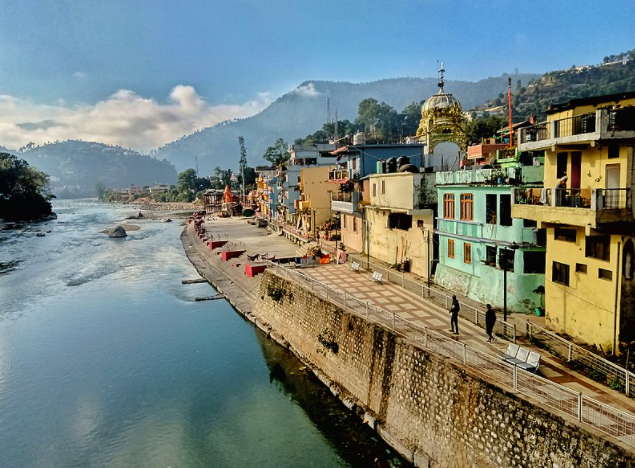 Saryu River in UP